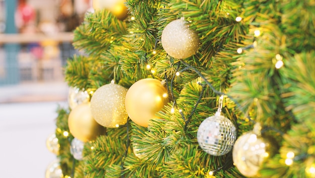 Drzewko świąteczne Premium Zdjęcia