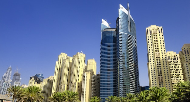Dubaj, Marina District Premium Zdjęcia