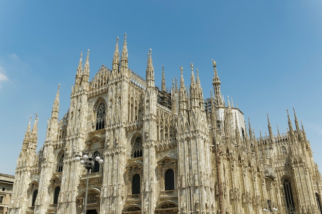 Duomo Di Milan We Włoszech Darmowe Zdjęcia