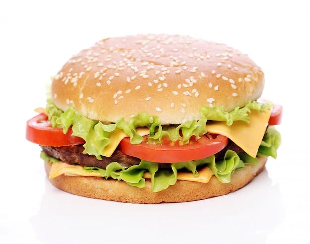 Duży I Smaczny Burger Darmowe Zdjęcia