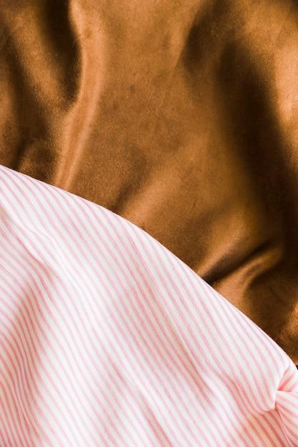 Dwa różne rodzaje tła tkaniny włókienniczej Darmowe Zdjęcia