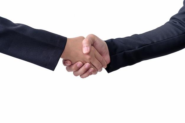 Dwie Osoby Podają Sobie Ręce Premium Zdjęcia