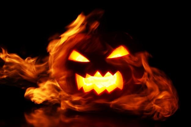 Dynia W Płomieniach Darmowe Zdjęcia