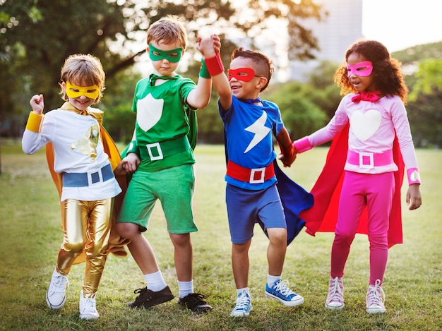 Dzieci superbohaterów Darmowe Zdjęcia