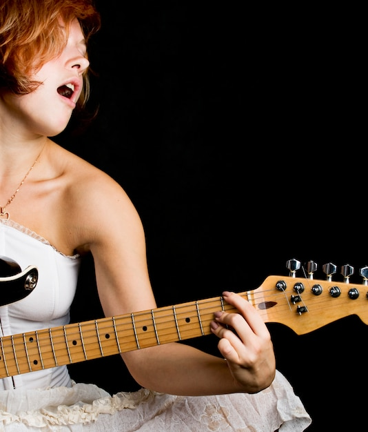 Dziewczyna śpiewa Darmowe Zdjęcia