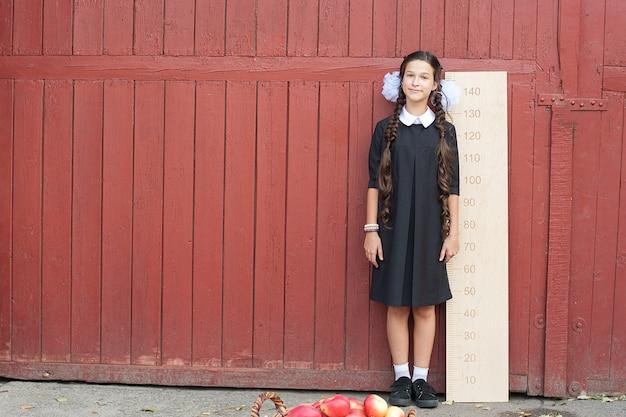 Dziewczyna Z Wielką Władcą Premium Zdjęcia