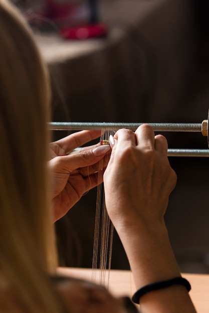 Dziewiarskie Mini Dywany Na Maszynie Darmowe Zdjęcia