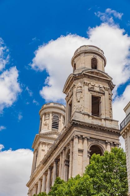 Eglise saint-sulpice w paryżu Premium Zdjęcia