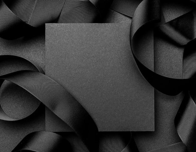 Eleganckie Ciemne Tło Kopia Przestrzeń Premium Zdjęcia