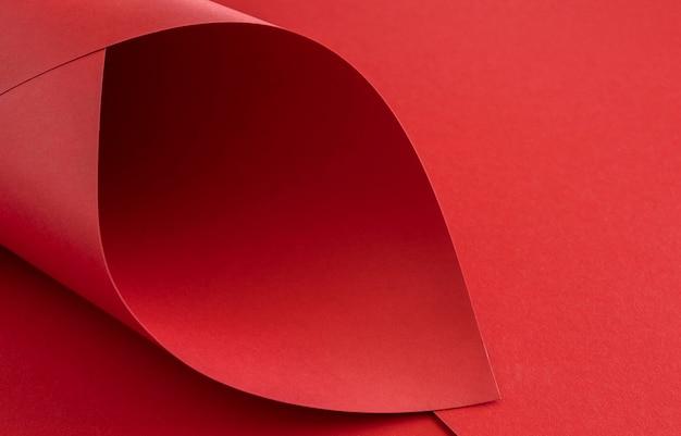 Eleganckie Czerwone Skręcone Papiery Darmowe Zdjęcia