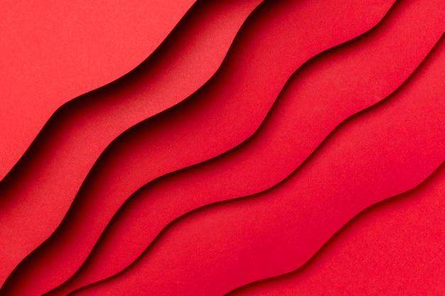 Faliste Warstwy Czerwonego Tła Darmowe Zdjęcia