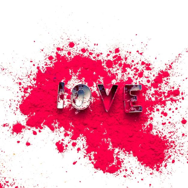 Farby Akwarelowe Tło Z Listów Miłosnych Darmowe Zdjęcia