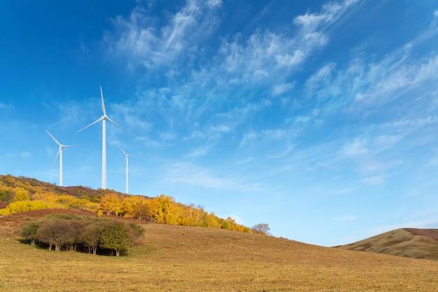 Farma Wiatrowa Premium Zdjęcia