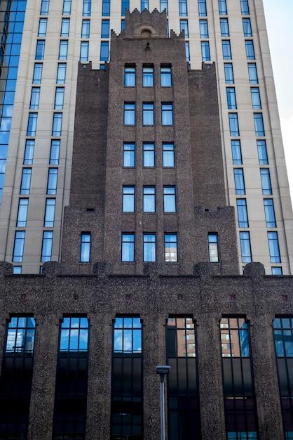 Fasada Nowoczesny Budynek Biurowy W śródmieściu Minneapolis, Hrabstwo Hennepin, Minnesota, Usa Premium Zdjęcia