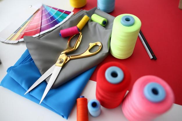 Fashion Designing Tailor Craftsmanship Concept Premium Zdjęcia