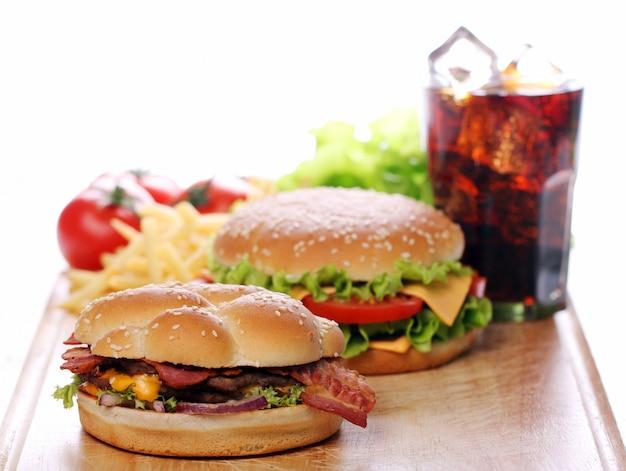 Fast Foody Na Stole Darmowe Zdjęcia
