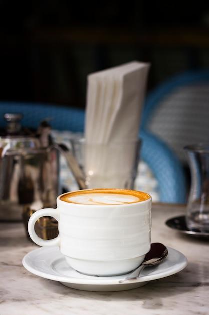 Filiżanka kawy z przodu Darmowe Zdjęcia