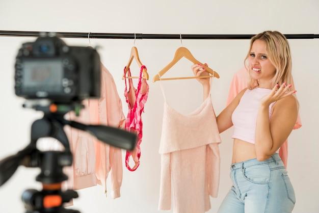 Film wideo z modą nagrań blonde blonde Darmowe Zdjęcia
