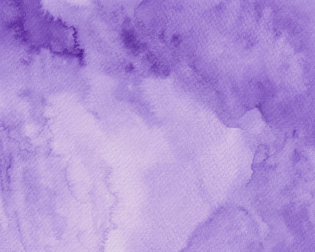 Fioletowy Tekstury Tła Akwarela, Fioletowy Papier Cyfrowy Akwarela Premium Zdjęcia