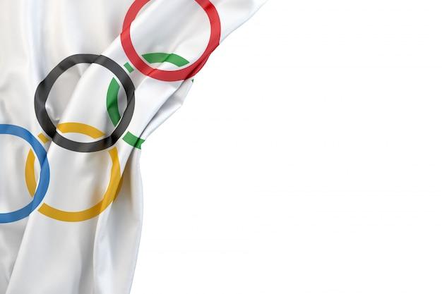 Flaga Igrzysk Olimpijskich Premium Zdjęcia