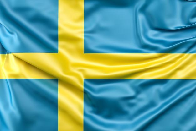 Flaga szwecji Darmowe Zdjęcia