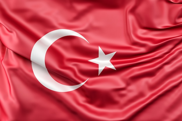 Flaga turcji Darmowe Zdjęcia