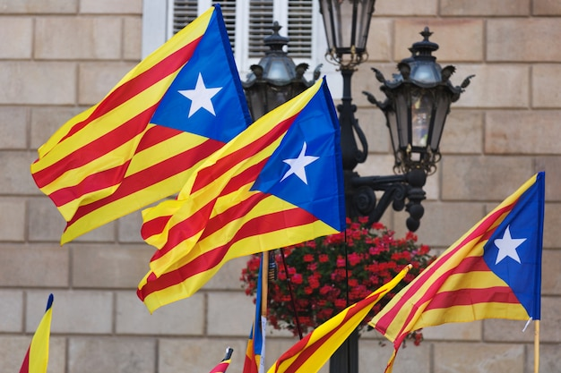 Flagi Katalonii Darmowe Zdjęcia