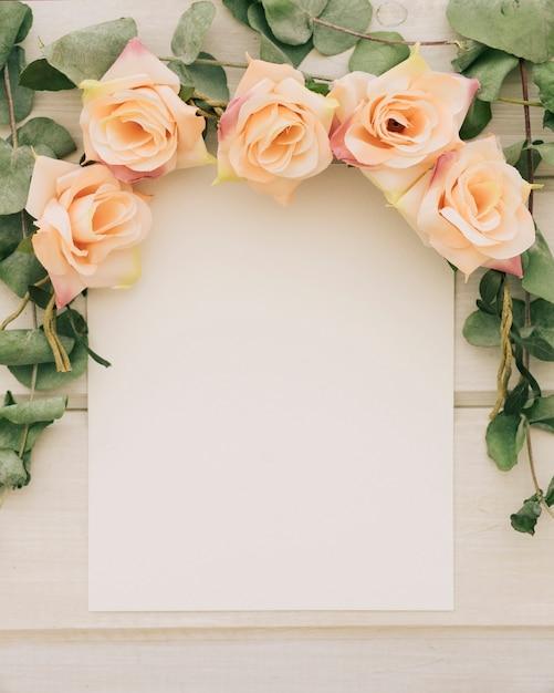 Floral ramki i szablonu Darmowe Zdjęcia