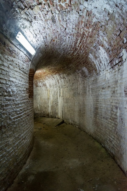 Fort 13, Jilava. Stare Komunistyczne Więzienie W Rumunii. Premium Zdjęcia