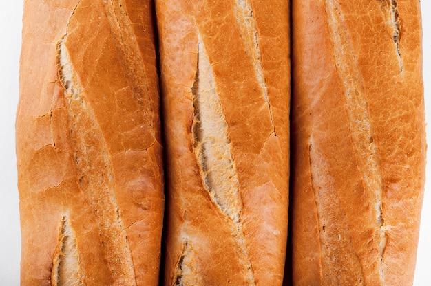 Francuska Bagietka, Chleb. Odosobniony Premium Zdjęcia
