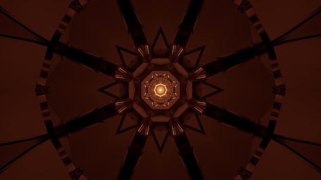 Futurystyczne Tło Ze świecącym Abstrakcyjnym światłem Neonowym Darmowe Zdjęcia