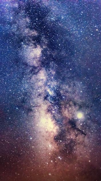 Galaktyka Drogi Mlecznej Z Gwiazdami I Kosmicznym Pyłem We Wszechświecie Premium Zdjęcia
