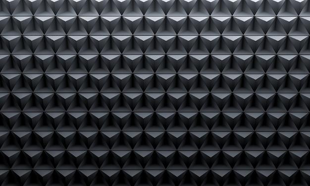 Geometryczne Tło Z Włókna Węglowego Premium Zdjęcia