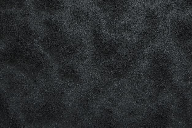 Głębokie Teksturowane Czarne Tło, Proste Tło Premium Zdjęcia