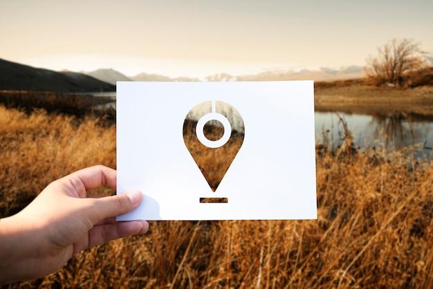 Globalny System Pozycjonowania Perforowanego Papieru Znacznikowego Darmowe Zdjęcia