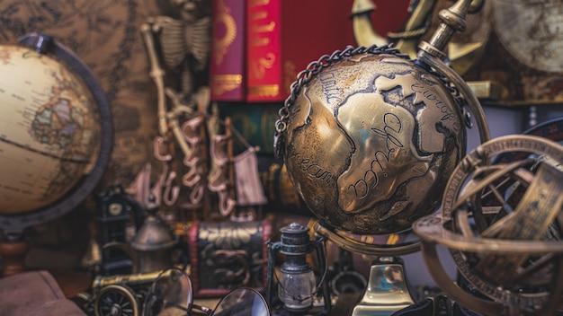 Globe world model Premium Zdjęcia