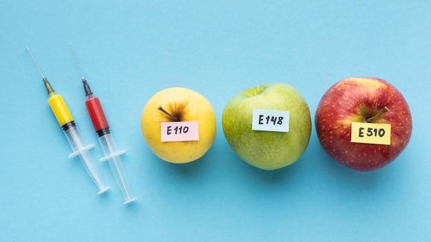 Gmo Chemicznie Modyfikowane Jabłka Spożywcze Darmowe Zdjęcia