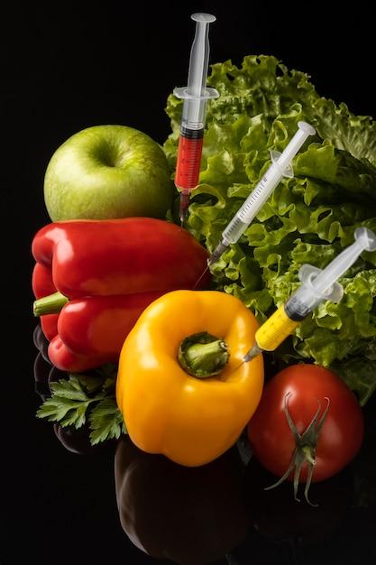 Gmo Chemicznie Modyfikowane Rozmieszczenie żywności Darmowe Zdjęcia