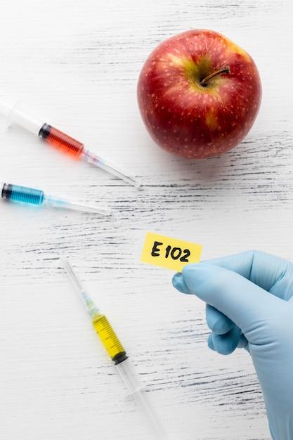 Gmo Czerwone Jabłko Modyfikowane Chemicznie Darmowe Zdjęcia