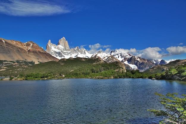 Góra Fitz Roy, El Chalten, Patagonia, Argentyna Premium Zdjęcia