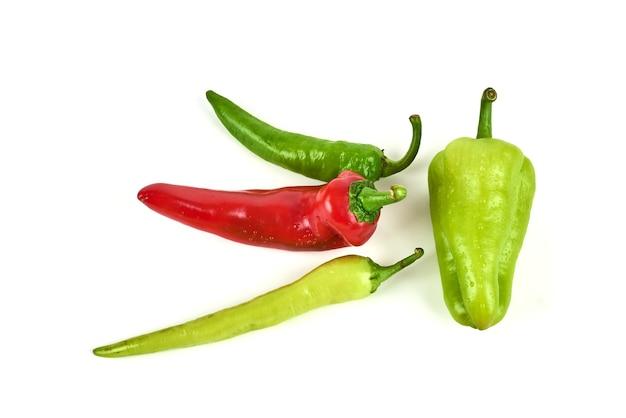 Gorące Chili Na Białym Tle. Darmowe Zdjęcia