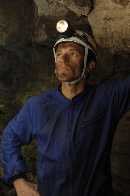 Górnik W Kopalni Premium Zdjęcia