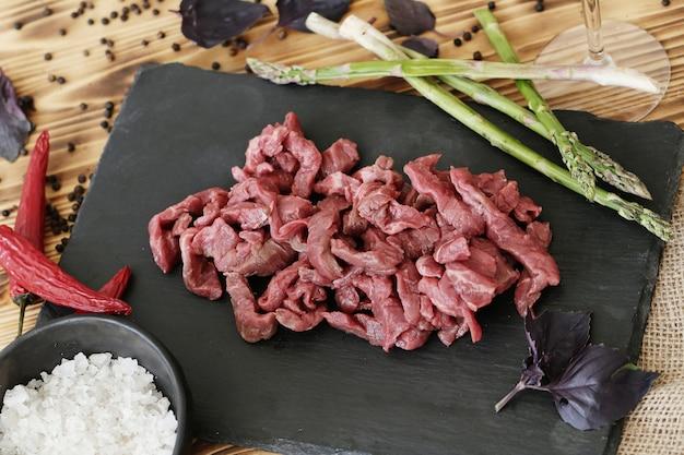 Gotowanie Surowego Mięsa Darmowe Zdjęcia