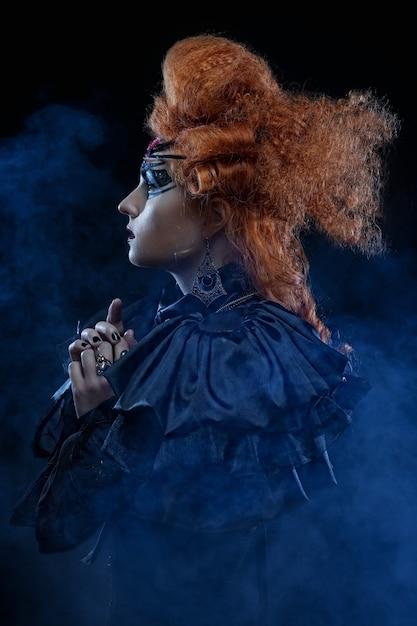 Gotycka czarownica. Premium Zdjęcia