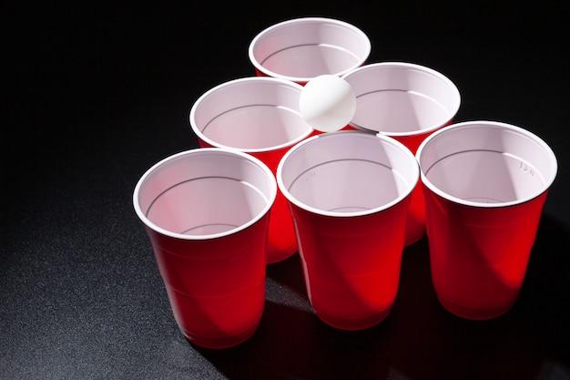 Gra Pong Pong College Premium Zdjęcia