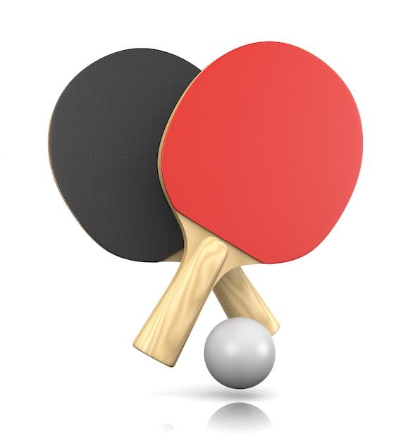 Gra W Ping-ponga Premium Zdjęcia