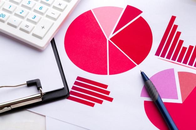 Graficzna analiza wykresów Premium Zdjęcia