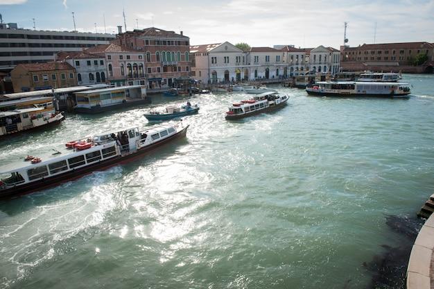 Grand Canal W Wenecji Premium Zdjęcia