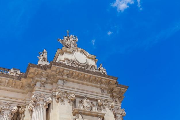 Grand palais w paryżu Premium Zdjęcia