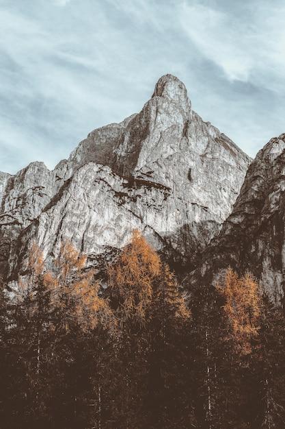 Grey Mountain Landscape Darmowe Zdjęcia